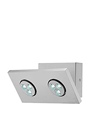 Lite Source Zella 2-Light LED Wall Lamp, Silver
