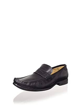 Florsheim Men's Moc & Roll Penny Loafer (Black)