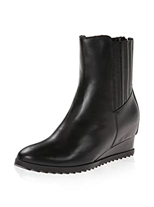 Calvin Klein Women's Judith Wedge Ankle Boot (Black)