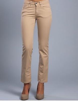 Cortefiel Jeans Slim Fit (Beige)