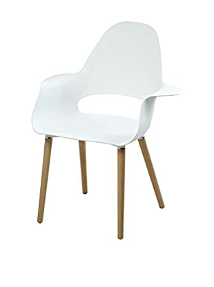 Control Brand The Organic Chair, White