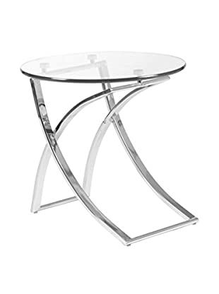 Eurostyle Talisa Side Table, Clear
