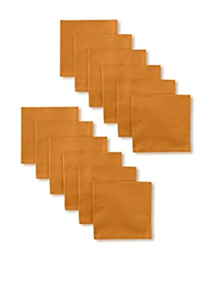 Garnier-Thiebaut Set of 12 Confetti Napkins, Ocre