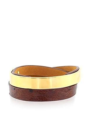 Renoma Armband Edith Kenya braun/goldfarben