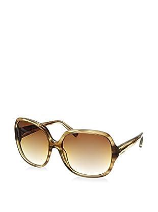 DITA Women's 7700H-62 Supa Dupa Sunglasses, Light Brown Swirl