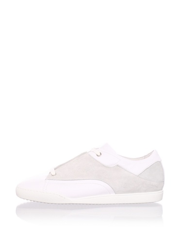 Calvin Klein Men's Inverted Sneaker (White)
