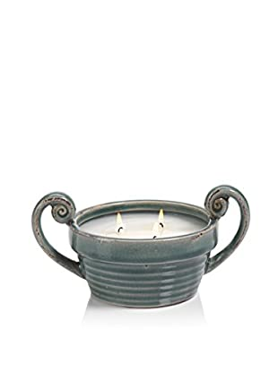 Zodax Illuminaria Citronella Scented Candle Bowl, Blue
