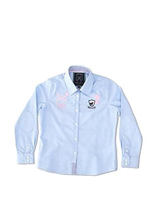 Valecuatro Camisa Junior Escudo Caballos (Azul Celeste)