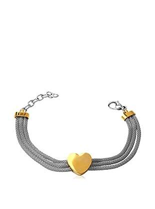 Rendez-Vous Armband  silber/goldfarben