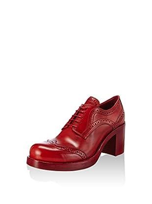 Miu Miu Zapatos abotinados Derbe