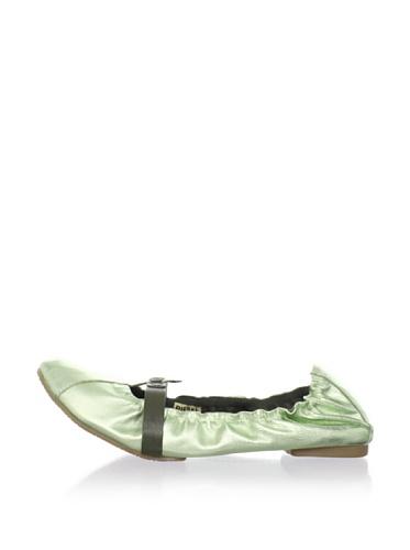 Diesel Kids T-Strap Ballet Flat (Mint)