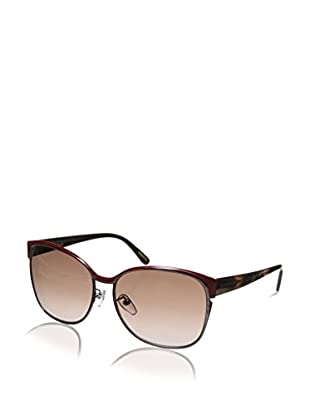Givenchy Women's SGV457 Sunglasses, Red/Gold