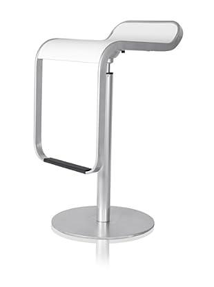 Control Brand Elle Adjustable-Height Stool (White)