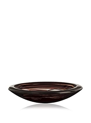 Kosta Boda Barcelona Vase (Black/White)