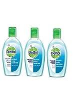 Dettol Spring Fresh Sanitizer - 50 ml (Pack of 3)