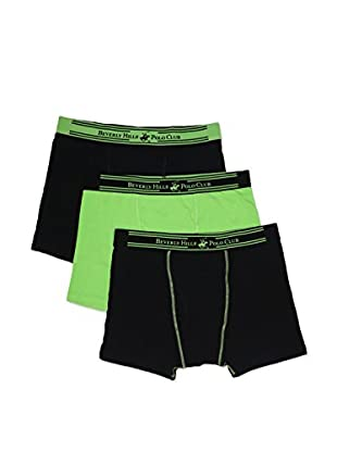 Beverly Hills Polo Club Men's Performance Boxer Brief 3-Pack