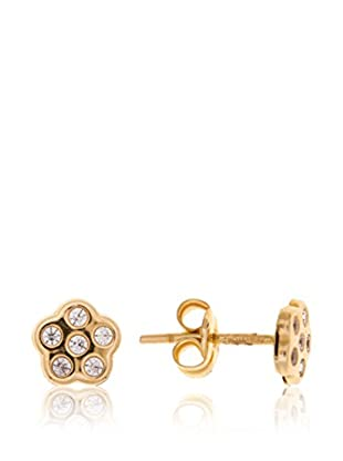 Gold & Diamond Pendientes Laura