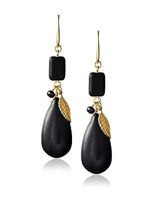 David Aubrey Multi-Stone Linear Earrings