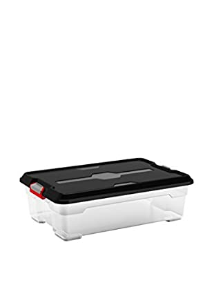 KIS Set Cajas 7 Piezas Moover Box M Trasparente / Negro