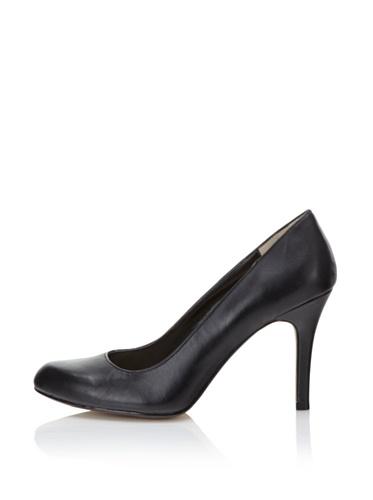 MaxStudio Women's Marais Pump (Black Leather)