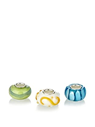 Bacio Pack Charms Murano Multicolor