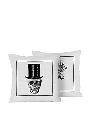 Really Nice Things Kissen 2er Set Skull - Alce