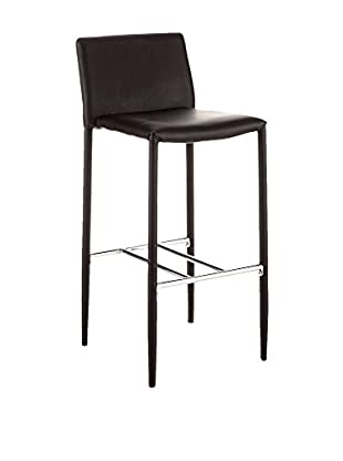 Contemporary Home Set Taburete de bar 2 Uds. Lion Negro