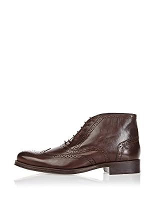 Divarese Zapatos Oxford Steven (Marrón Oscuro)