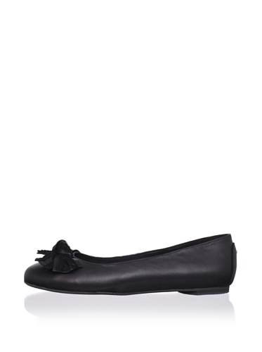 J. Loren Kid's Allina Dress Shoe (Black)