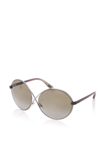 Tom Ford Women's Beatrix Sunglasses, Light Ruthenium/Violet