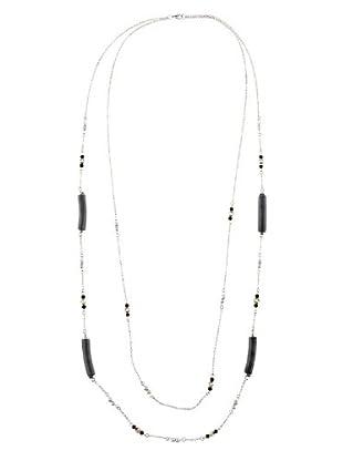 Cortefiel Collar Prismas (Gris Oscuro)
