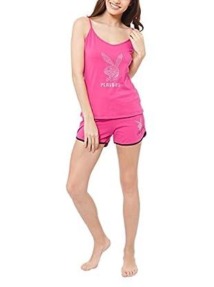 Play Boy Nightwear Pyjama Strass Bunny