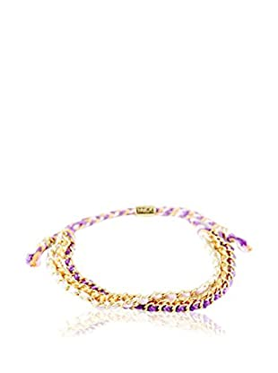 Ettika Purple/Orange/Pink Forever Friendship Bracelet