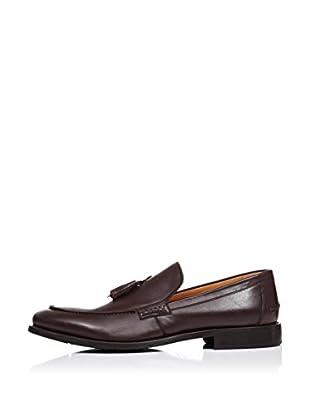 Caramelo Zapatos Pierce (Verde Oscuro)