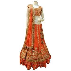 Heavy Embroidery Anarkali Lehenga Bridal Wedding Designer Anarkali Lehenga Choli