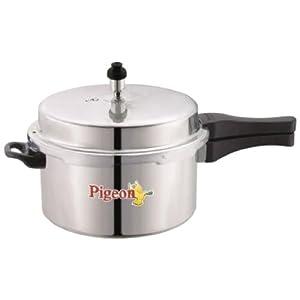 Pigeon Deluxe Aluminium Pressure Cooker, 3 Litres