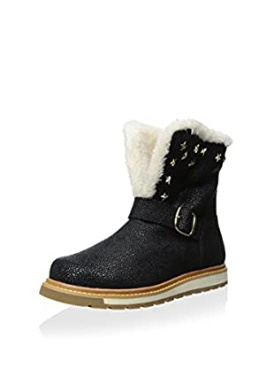 Burnetie Women's Uniform Mid Cold Weather Boot (Black)