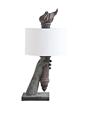 Mercana Libertad I 1-Light Table Lamp, Gray
