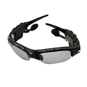 Stylish Eyewear Sunglasses Mp3 Player with 2 GB memory black