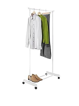 Honey-Can-Do White Portable Garment Rack