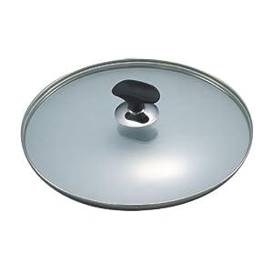 【クリックで詳細表示】クチーナ 強化ガラス蓋22㎝ ND-5655: ホーム&キッチン