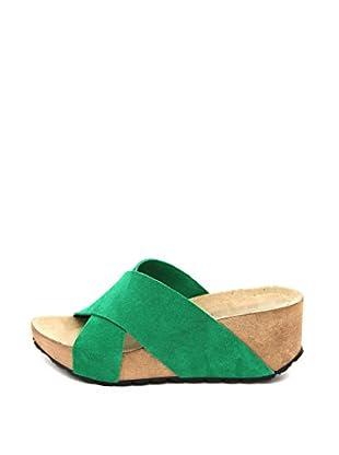 La Comoda Sandalias María (Verde)
