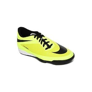 Nike Men Fluorescent Yellow Hypervenom Phade TF Sports Shoes