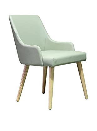 International Designs USA High Style Dining Chair, Cream