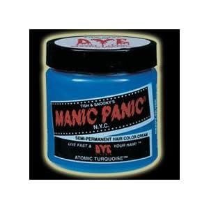 【クリックで詳細表示】manic panic(マニックパニック) マニックパニックヘアカラー アトミックターコイズ MC11002 118ml: ヘルス&ビューティー