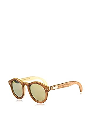 FELER SUNGLASSES Occhiali da sole Forest Bubinga (46 mm) Beige/Marrone