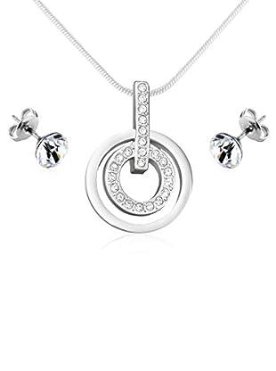 Diamond Style Schmuckset Faith Pendant & Solo Ear Studs