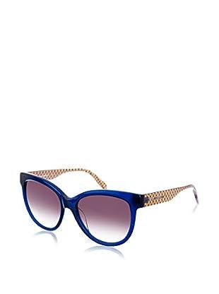Karl Lagerfeld Sonnenbrille KL907S-077 (55 mm) dunkelblau/kristall