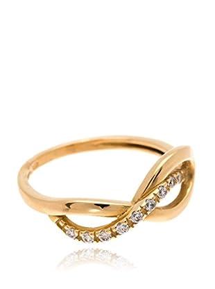 Gold & Diamonds Ring Tie