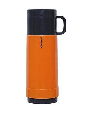 Thermoskanne 0,75 Lt. orange/grau